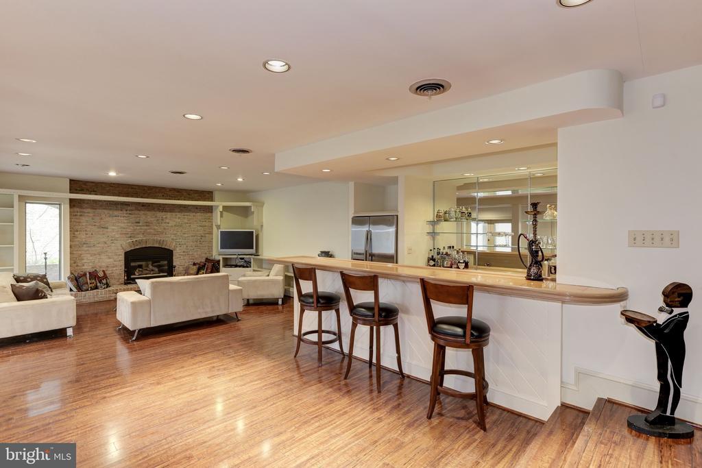 Recreation Room w/Bar - 6709 ARROYO CT, ROCKVILLE