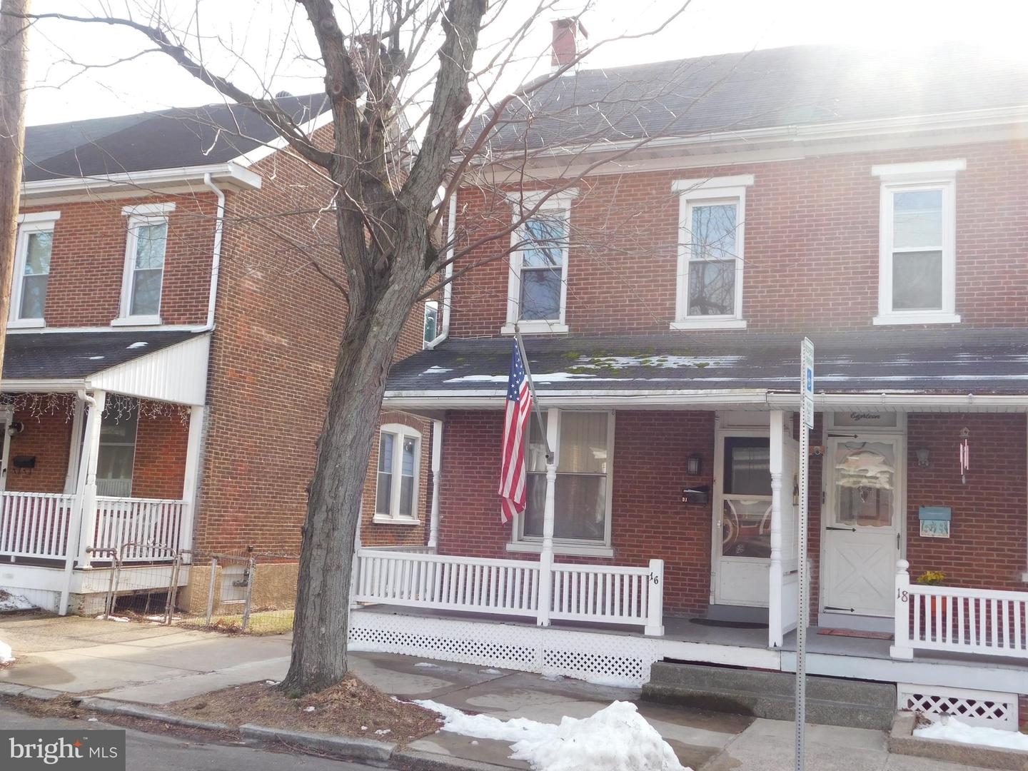 Photo of home for sale at 16 5th Street, Pottstown PA
