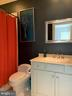 Bathroom for bedroom 3 - 7301 DULANY DR, MCLEAN
