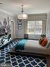 Bedroom 3 with a NY vibe - 7301 DULANY DR, MCLEAN