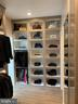 Her closet is like a fine boutique - 7301 DULANY DR, MCLEAN