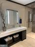 His bath has a wonderful trough sink - 7301 DULANY DR, MCLEAN