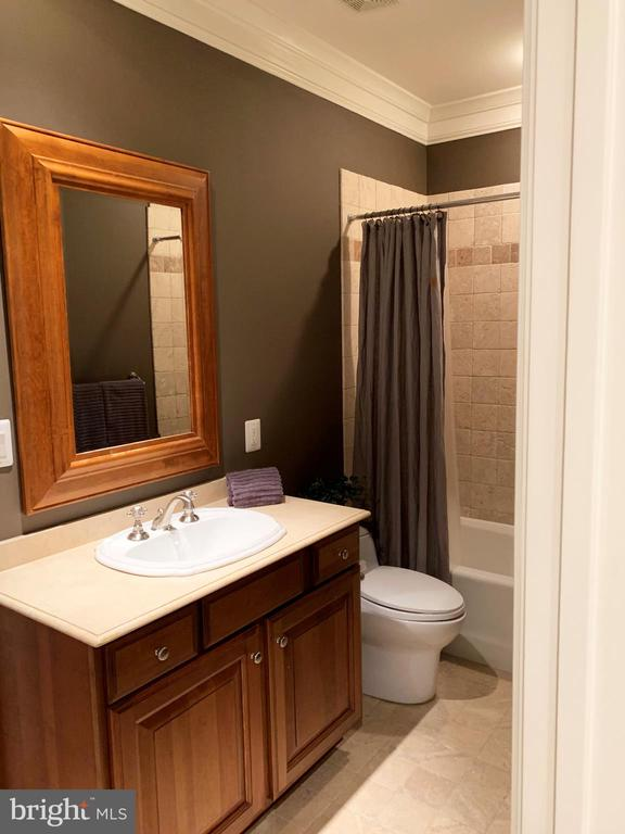 Guest suite bathroom - 7301 DULANY DR, MCLEAN