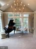Music room/solarium is flooded with light - 7301 DULANY DR, MCLEAN