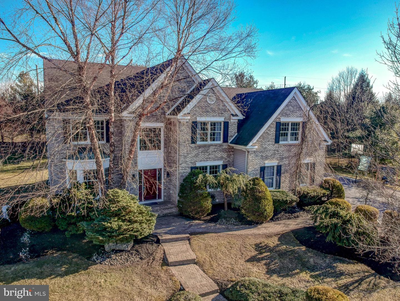 Maison unifamiliale pour l Vente à West Windsor, New Jersey 08550 États-Unis