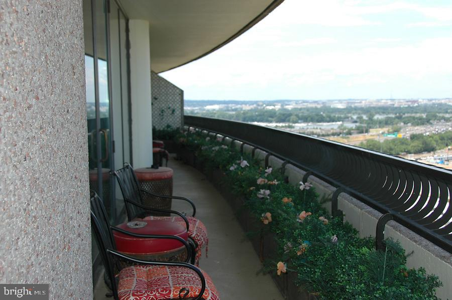 Balcony 1 - 1200 CRYSTAL DR #1713, 1714, ARLINGTON