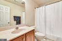 Private Bath to Bedroom #5. - 3446 VALEWOOD DR, OAKTON