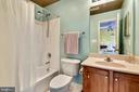 Full Bath to Bedroom #2 - 3446 VALEWOOD DR, OAKTON