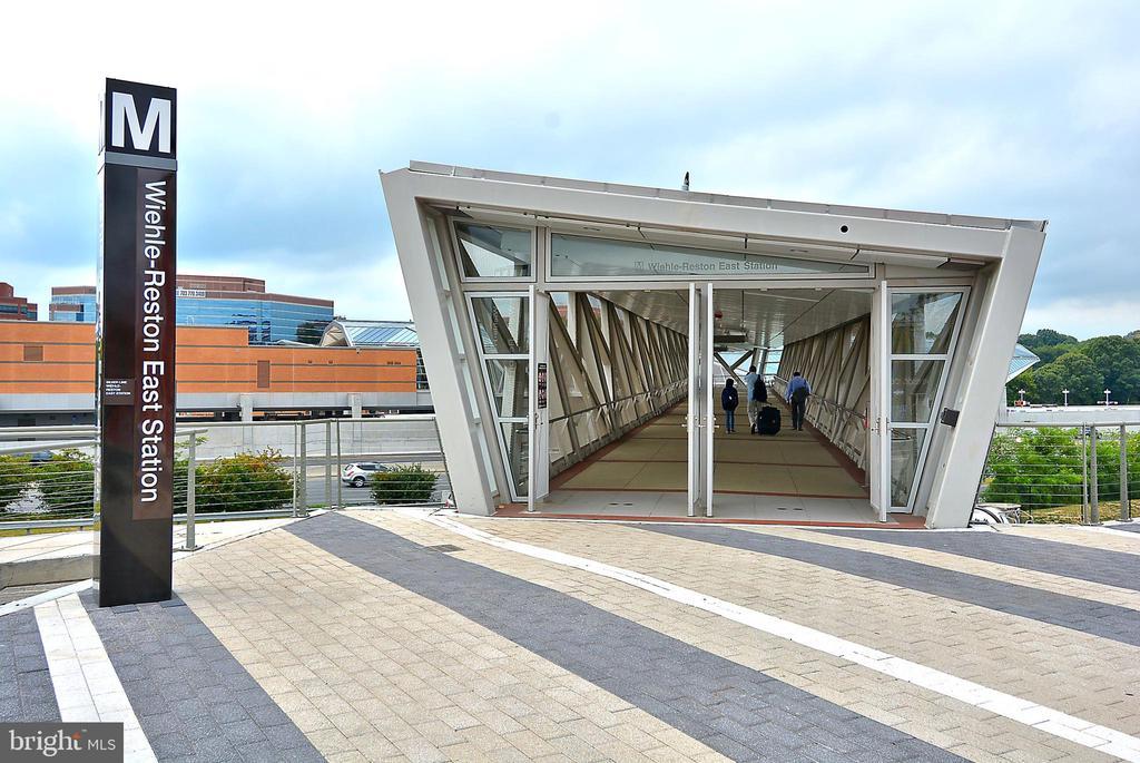Wiehle-Reston East Metro Station 7 miles. - 3446 VALEWOOD DR, OAKTON