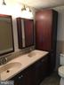 Upgraded cabinets in full bath! - 10273 WINDGATE CT, MANASSAS