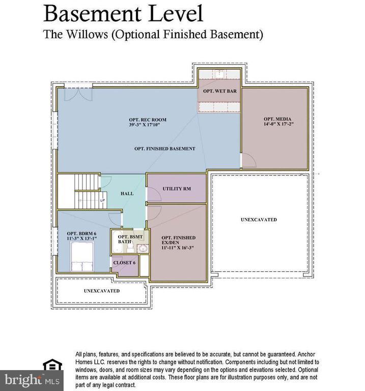Basement - 7017 WOODLAND DR, SPRINGFIELD