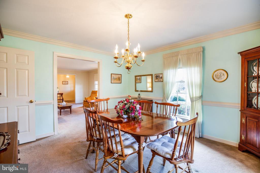 Dining Room - 1 TALLY HO DR, FREDERICKSBURG