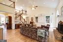 Two-story family room open to rest of home - 3013 N DICKERSON ST, ARLINGTON