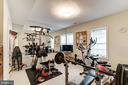 Lower level exercise room/nanny suite - 3013 N DICKERSON ST, ARLINGTON