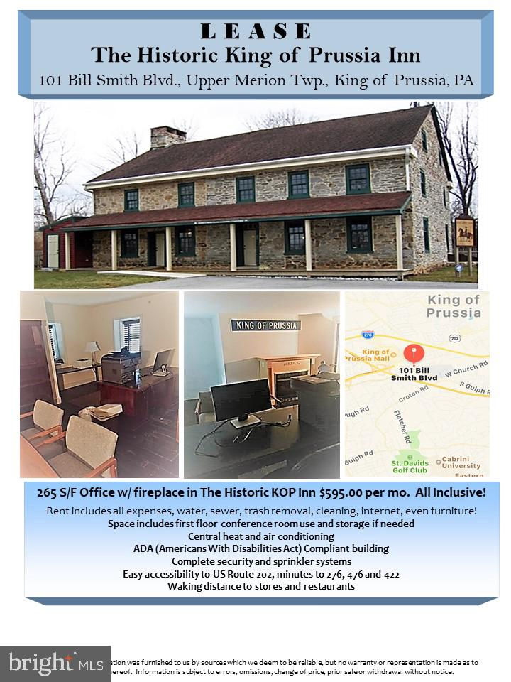 Photo of home for sale at 101 Bill Smith Boulevard, King Of Prussia PA
