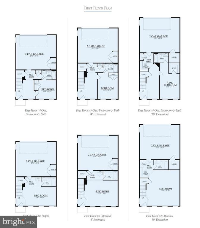Floor Plan - FORKED CREEK TERRACE- COVINGTON, LEESBURG