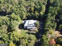 Ariel of private 6.2 acres of privacy - 12794 YATES FORD ROAD, CLIFTON