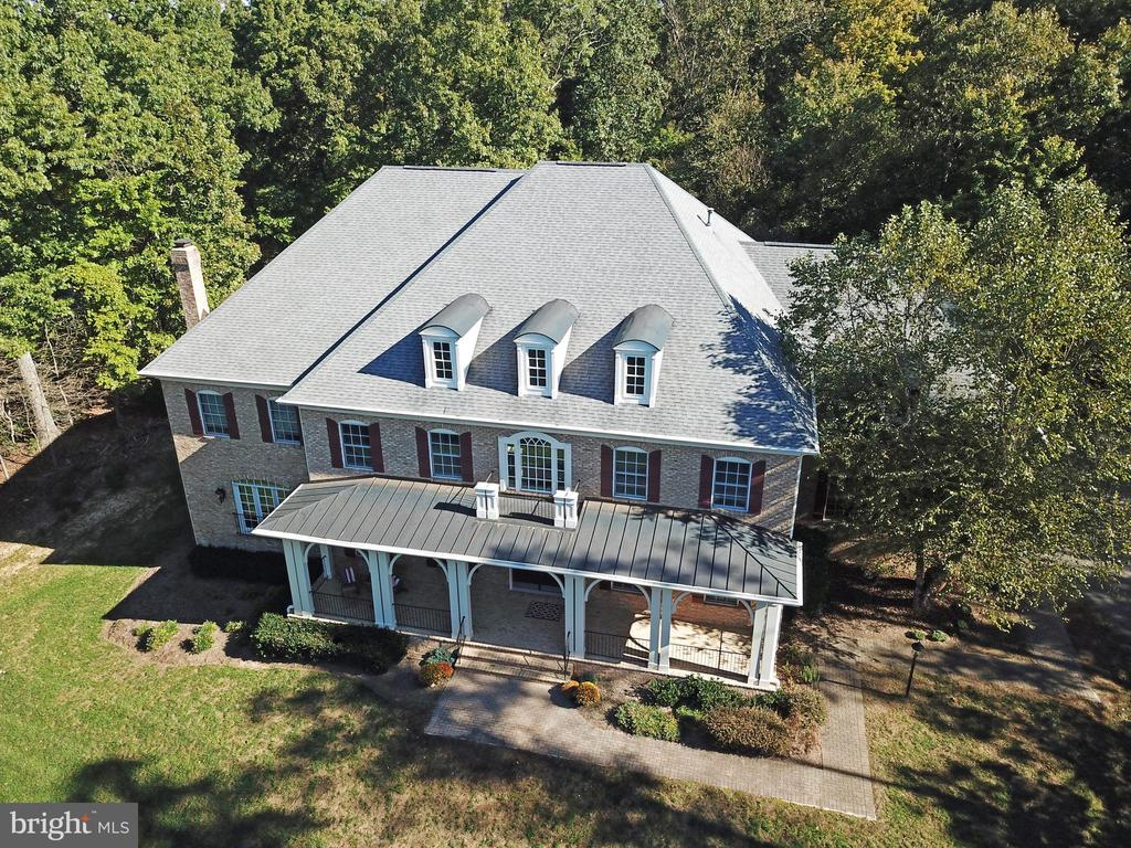 Ariel of front exterior - 12794 YATES FORD ROAD, CLIFTON