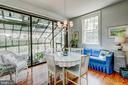 Breakfast Room & Adjoining Greenhouse - 1 S ACTON PL, ANNAPOLIS