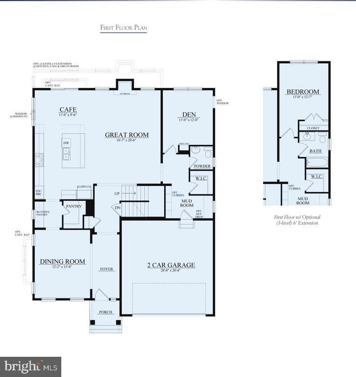 Floor Plan - BROKEN ROCK STREET- BENTLEY, LEESBURG