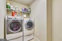 Upper Level Laundry. - 3446 VALEWOOD DR, OAKTON