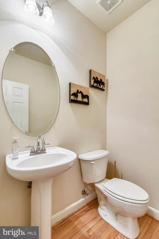 Powder Room off of Foyer. - 3446 VALEWOOD DR, OAKTON