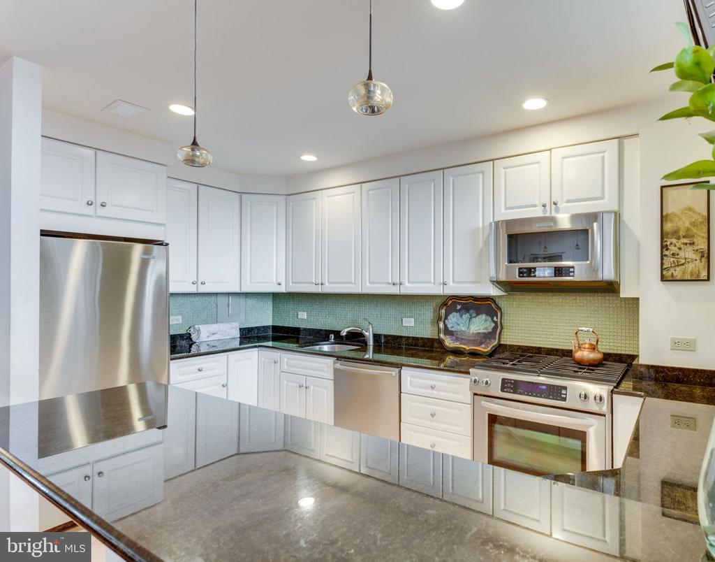 Kitchen has been opened up and beautifully updated - 1200 N NASH ST #551, ARLINGTON