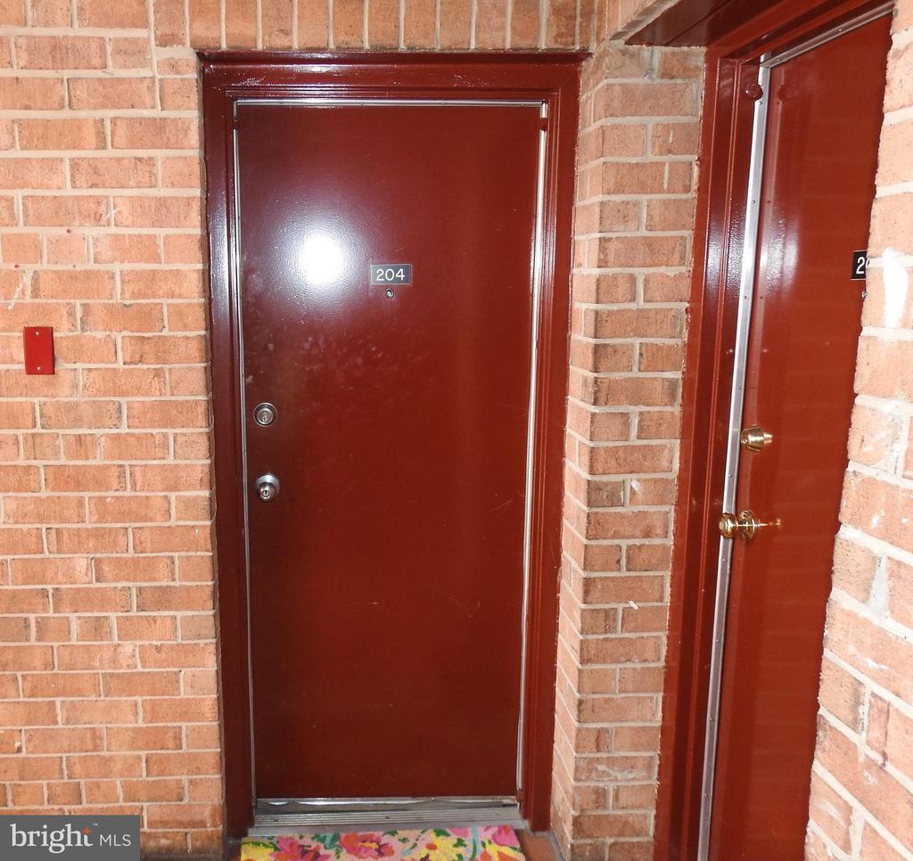 Front Door - 4124 AMES ST NE #204, WASHINGTON
