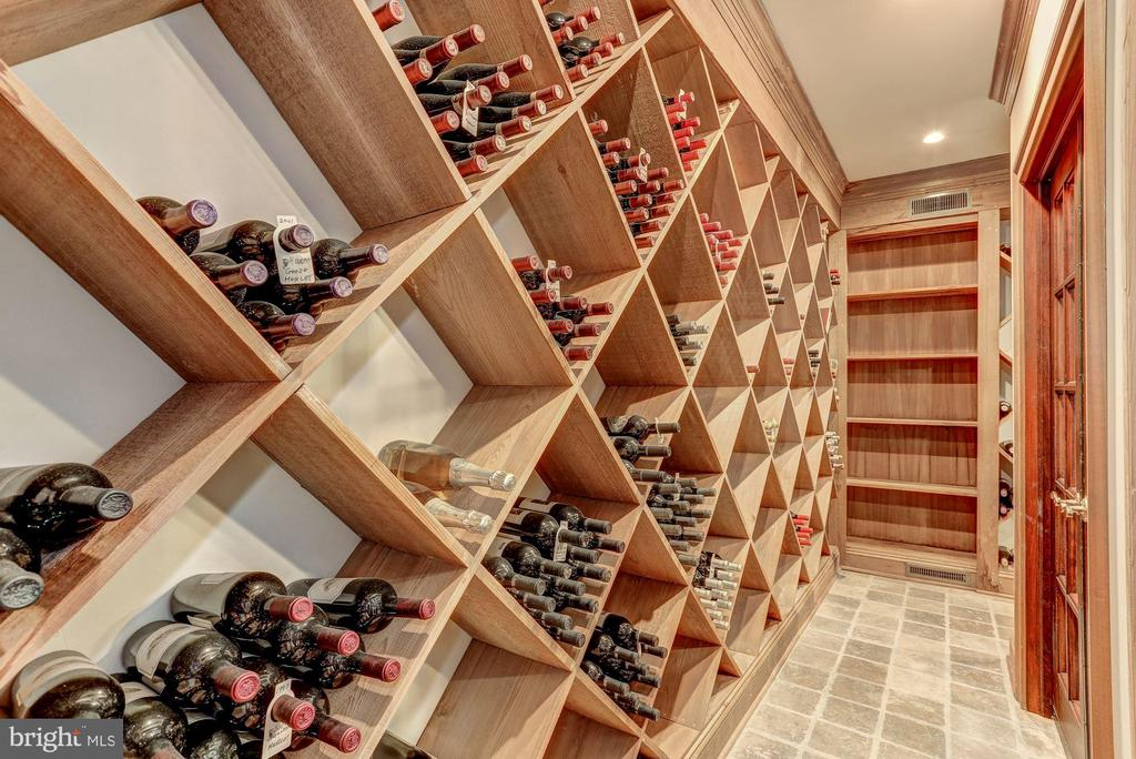 Wine cellar - 7984 GEORGETOWN PIKE, MCLEAN