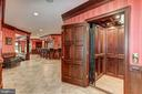 Beautiful Elevator services all four floors - 7984 GEORGETOWN PIKE, MCLEAN