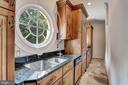 Scullery or catering kitchen - 7984 GEORGETOWN PIKE, MCLEAN
