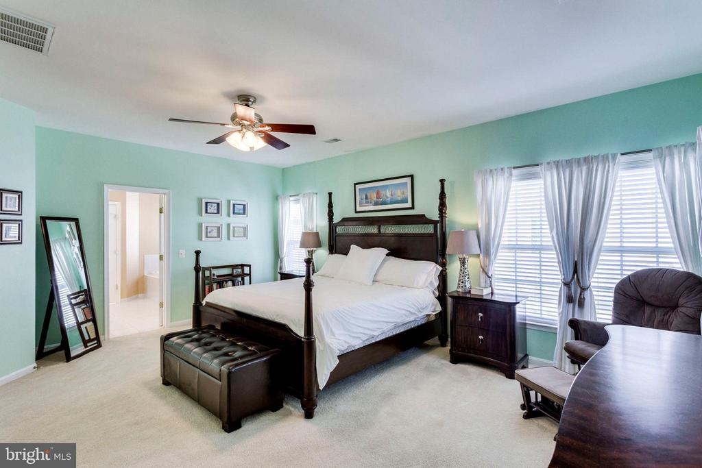 Master Suite w/ His & Her Walk-in Closets - 43328 MARKHAM PL, ASHBURN