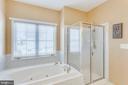 Updated Master Bath - 43328 MARKHAM PL, ASHBURN
