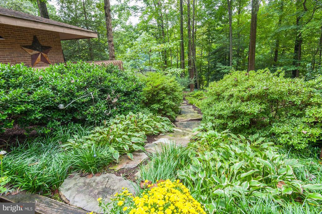 One of Many Landscaped Areas on Property - 5322 BLACK OAK DR, FAIRFAX