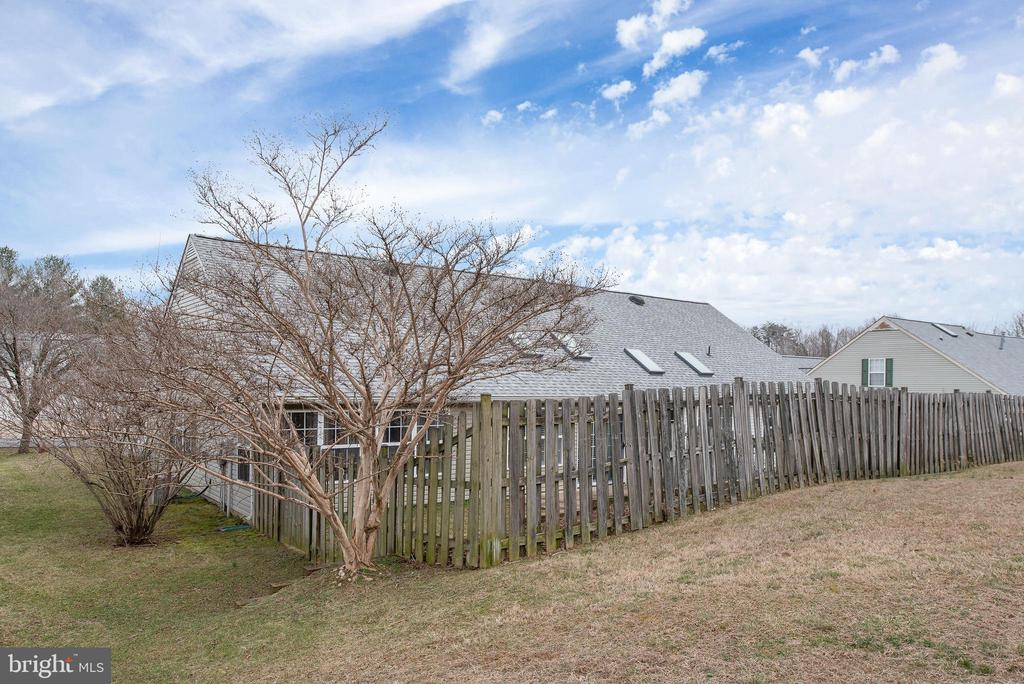 Fenced In Back Yard - 11320 SAVANNAH DR, FREDERICKSBURG