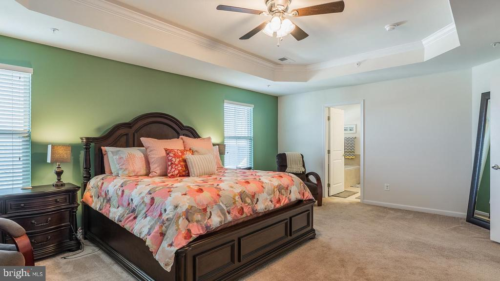 Master Bedroom - Shown with King Bed - 17149 SEA SKIFF WAY, DUMFRIES