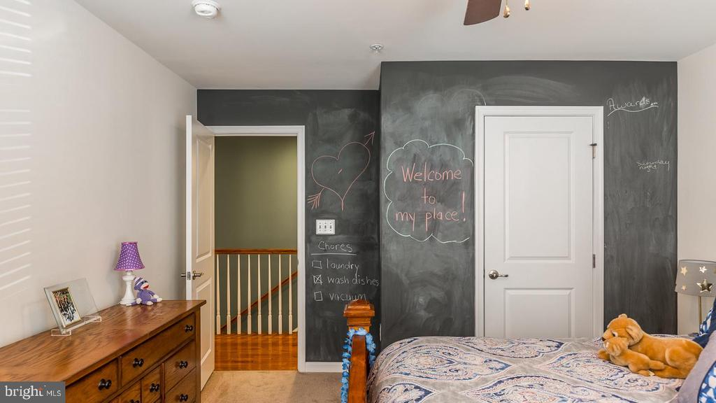Bedroom 3 - Chalkboard Paint - 17149 SEA SKIFF WAY, DUMFRIES