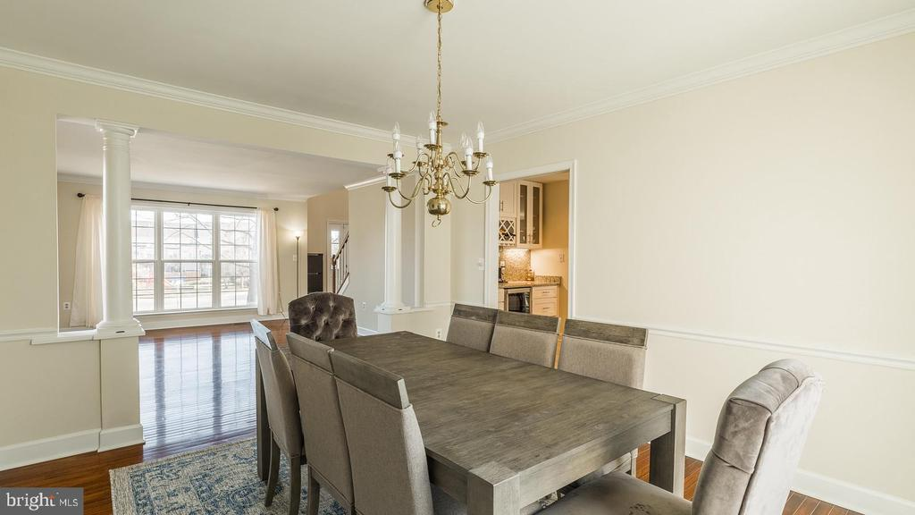Dining Room - 21337 CLAPPERTOWN DR, ASHBURN