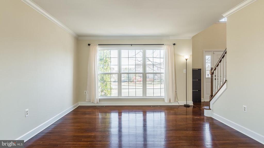 Living Room - 21337 CLAPPERTOWN DR, ASHBURN