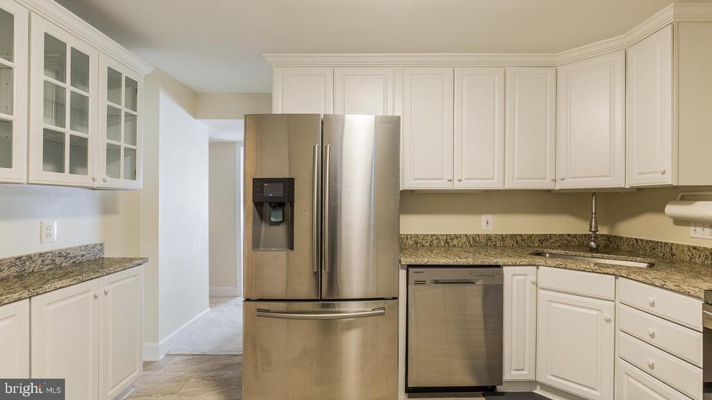 In-Law Suite Kitchen - 21337 CLAPPERTOWN DR, ASHBURN