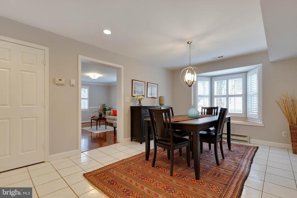 Another view of Dining Room - 1017 TYLER ST, HERNDON
