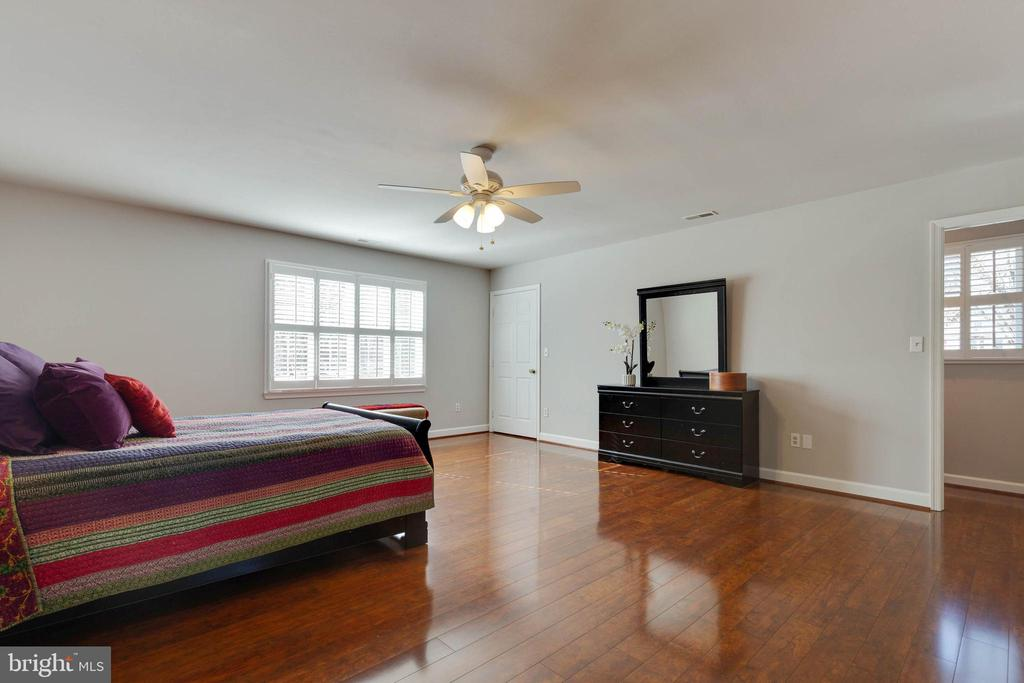 Anpother view of Master Bedroom - 1017 TYLER ST, HERNDON