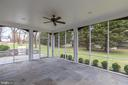 Screened in porch - 1017 TYLER ST, HERNDON