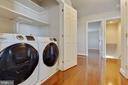 Brand new upper level washer and dryer - 1017 TYLER ST, HERNDON