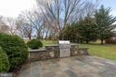 Patio with built in grill - 1017 TYLER ST, HERNDON