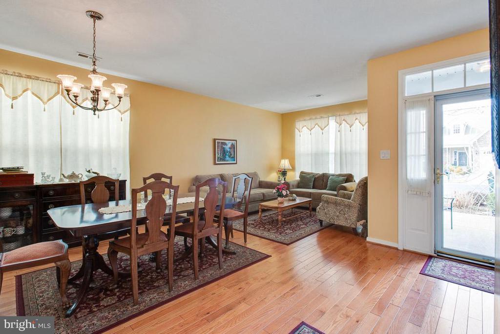 Living room, dining room - 11731 LEGACY WOODS DR, FREDERICKSBURG
