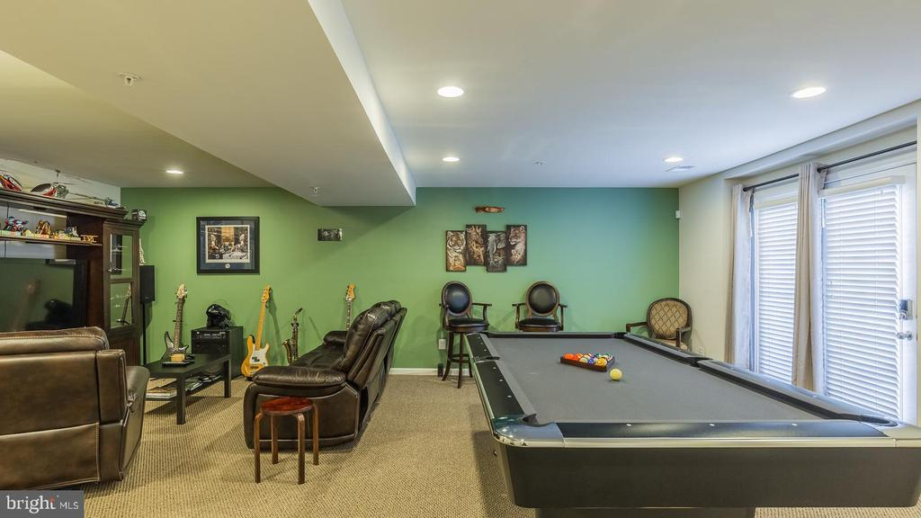 Basement Family Room - 17149 SEA SKIFF WAY, DUMFRIES