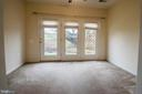Sun room/ Office w/ ceiling fan loads of light. - 16 TURTLE CREEK WAY, FREDERICKSBURG