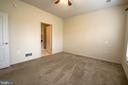 Master bedroom with plenty of space and light. - 16 TURTLE CREEK WAY, FREDERICKSBURG
