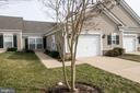 Front with sidewalks and front entry. - 16 TURTLE CREEK WAY, FREDERICKSBURG